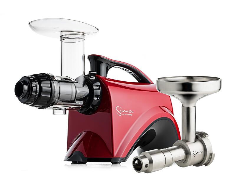 Sana EUJ 606 red + Sana EUJ-702 Oil Extractor