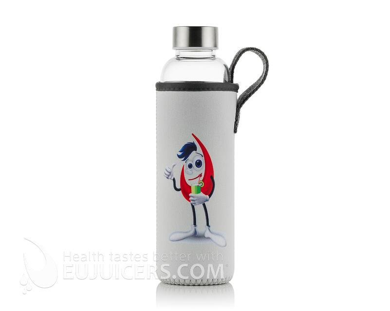 Szklana hermetyczna butelka 550 ml