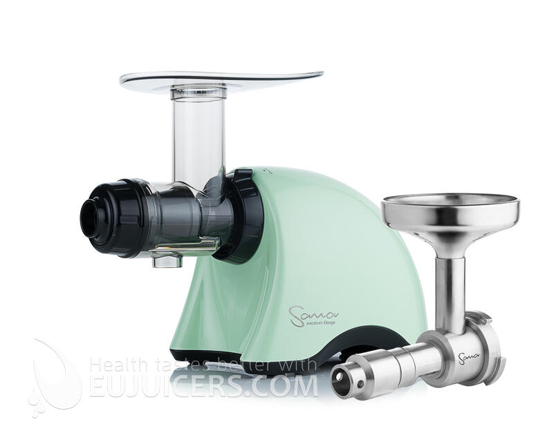 Sana Juicer EUJ-707 Pistachio Green + Sana Oil Extractor EUJ-702