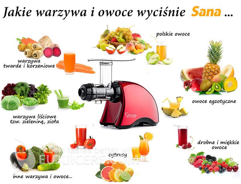 Soki z sokowirówki przepisy na soki owocowe i warzywne